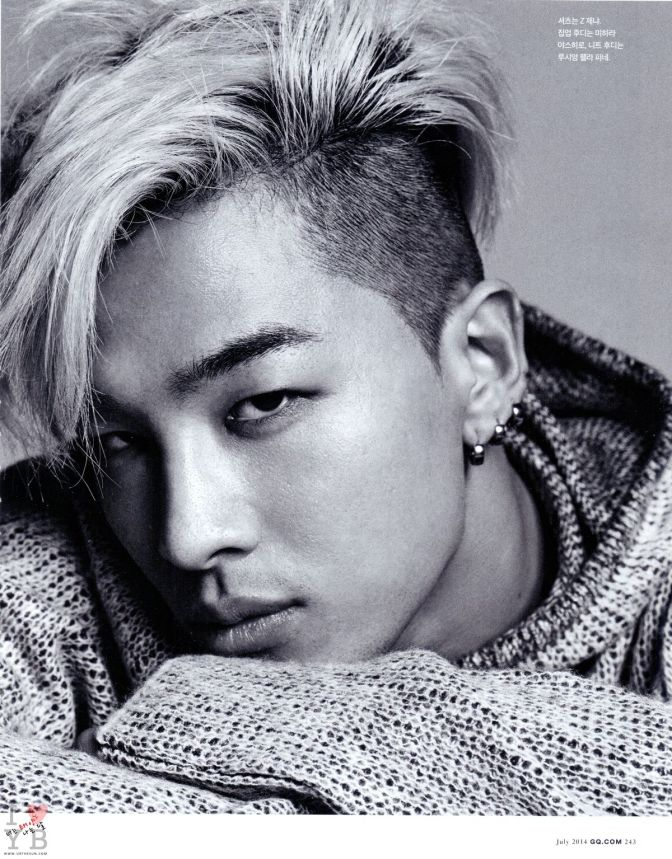 "[Interview: GQ Korea July 2014] Taeyang: ""To Me"""
